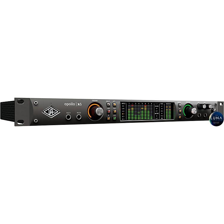 Universal AudioApollo x6 Thunderbolt 3 Audio Interface