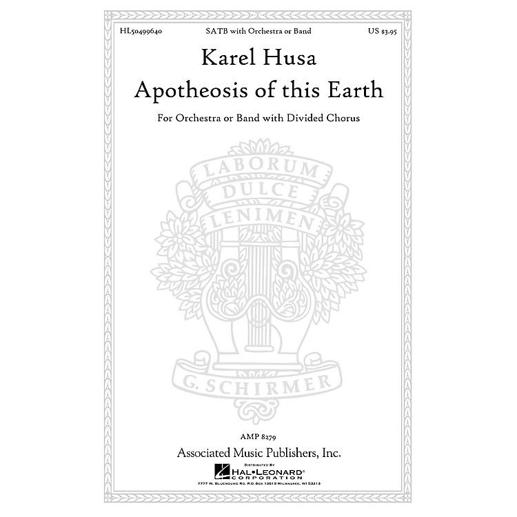 AssociatedApotheosis of This Earth SATB composed by Karel Husa