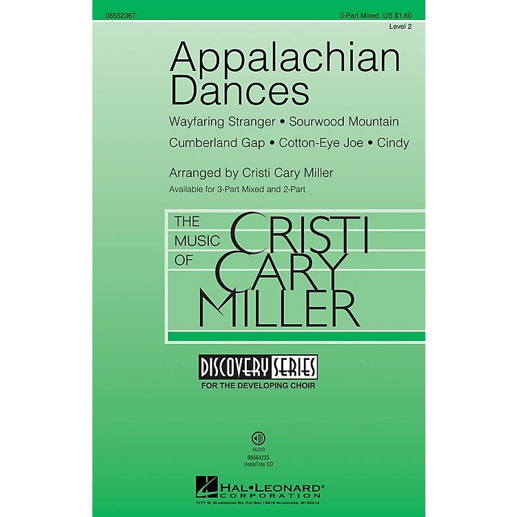 Hal LeonardAppalachian Dances (Discovery Level 2) 3-Part Mixed arranged by Cristi Cary Miller