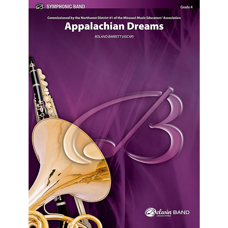 BELWIN Appalachian Dreams Concert Band Grade 4 (Medium)
