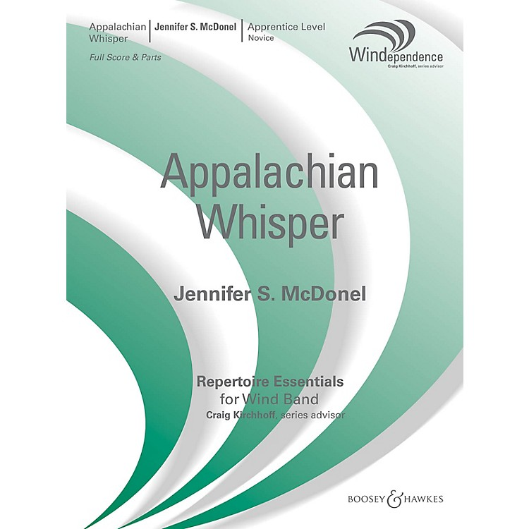 Boosey and HawkesAppalachian Whisper (Score Only) Concert Band Level 1.5 Composed by Jennifer S. McDonel