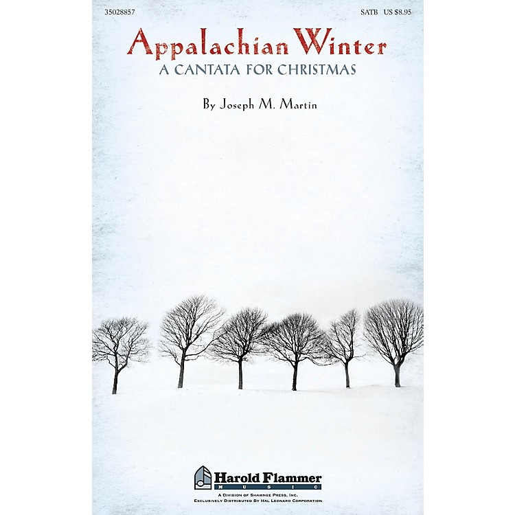 Shawnee Press Appalachian Winter Studiotrax CD Composed by Joseph Martin