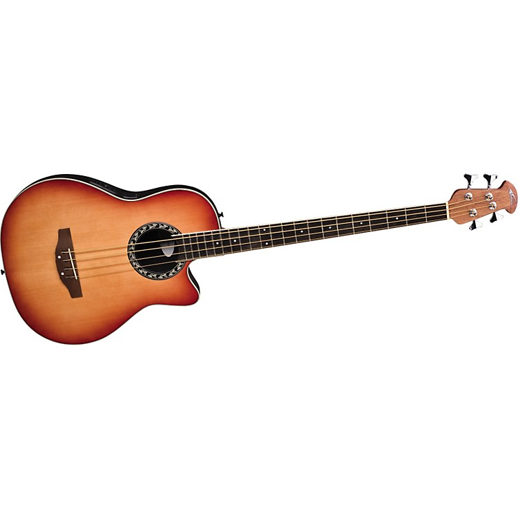 Applause Applause AE140-4 Acoustic-Electric Bass Guitar Honeyburst