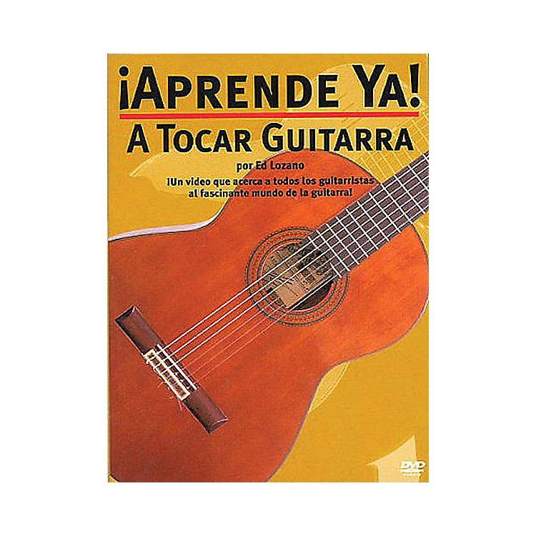 Music Sales¡Aprende Ya! - A Tocar Guitarra Music Sales America Series DVD Written by Ed Lozano