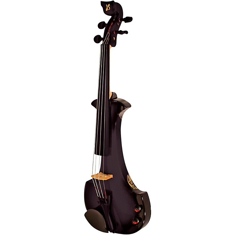 Bridge Aquila Series 4-String Electric Violin Black