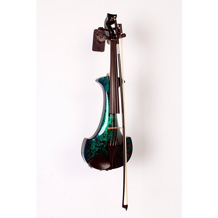 Bridge Aquila Series 4-String Electric Violin Green Marble 888365797427