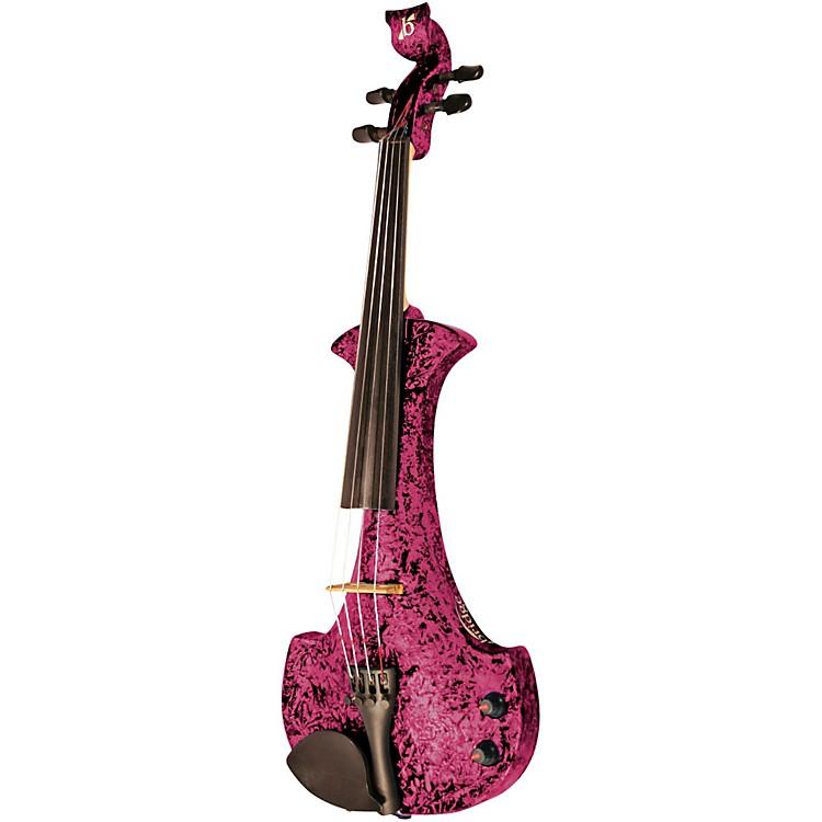 BridgeAquila Series 4-String Electric ViolinPurple Marble