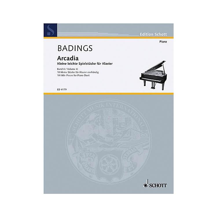 SchottArcadia - Volume 4 (10 Little Pieces for Piano) Schott Series