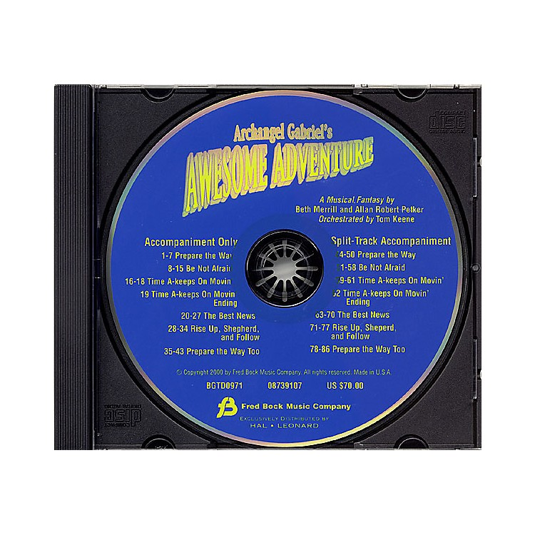 Fred Bock MusicArchangel Gabriel's Awesome Adventure (Sacred Musical) CD ACCOMP composed by Allan Petker