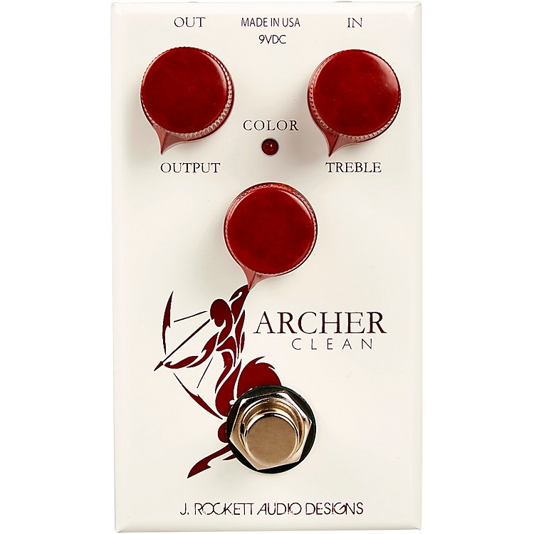 Rockett Pedals Archer Clean Boost Effects Pedal