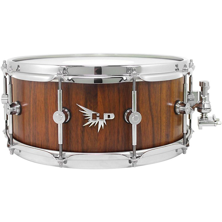 Hendrix Drums Archetype Series American Black Walnut Stave Snare Drum 14 x 6 in. Mirror Gloss Finish