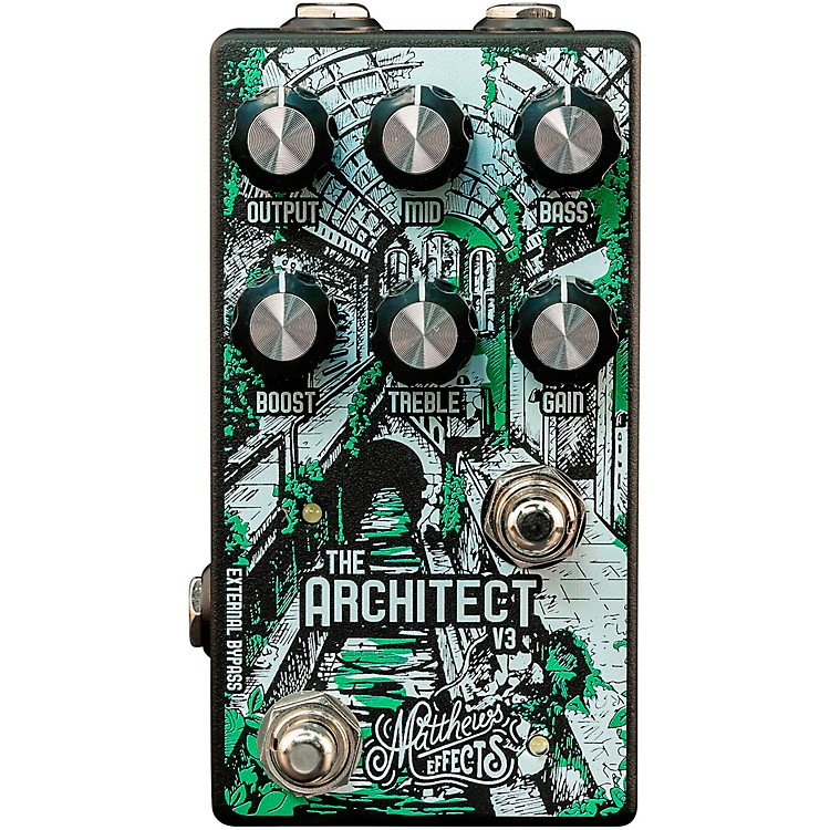 Matthews EffectsArchitect V3 Overdrive and Boost Effects Pedal