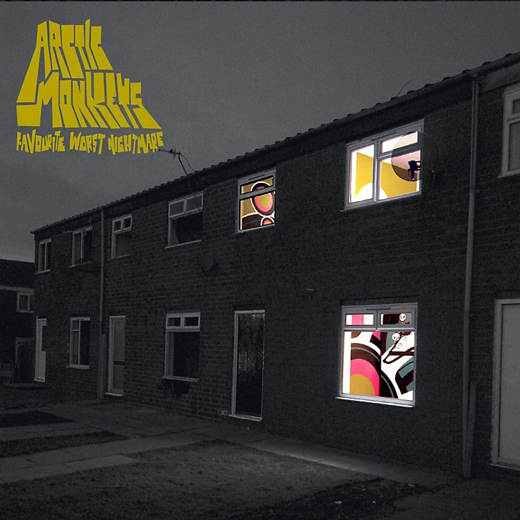 WEA Arctic Monkeys - Favourite Worst Nightmare (Vinyl)