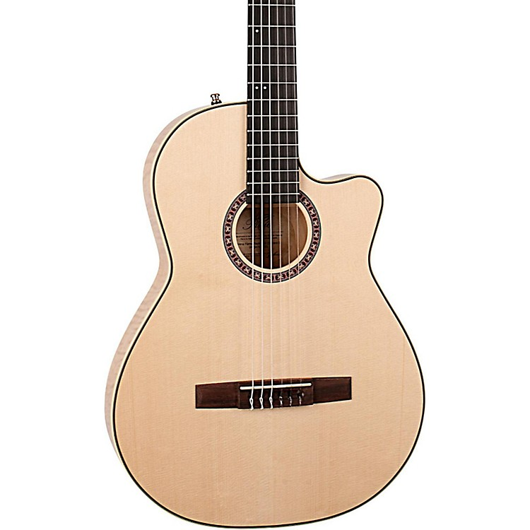 La Patrie Arena Flame Maple CW Crescent II Acoustic-Electric Guitar Natural