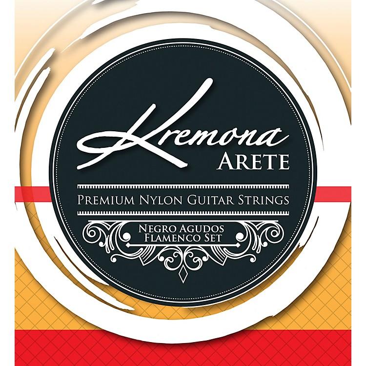 KremonaArete Premium Nylon Guitar Strings Negro Agudo Flamenco Set