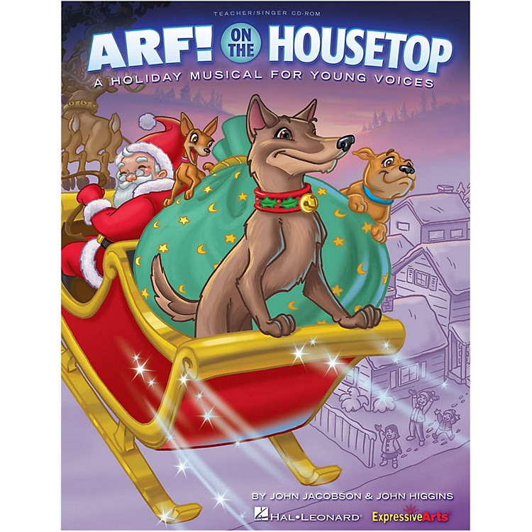 Hal Leonard Arf! On The Housetop Classroom Kit