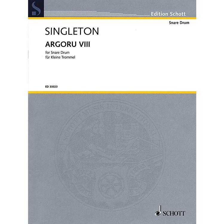 Hal LeonardArgoru VIII for Snare Drum Percussion Series
