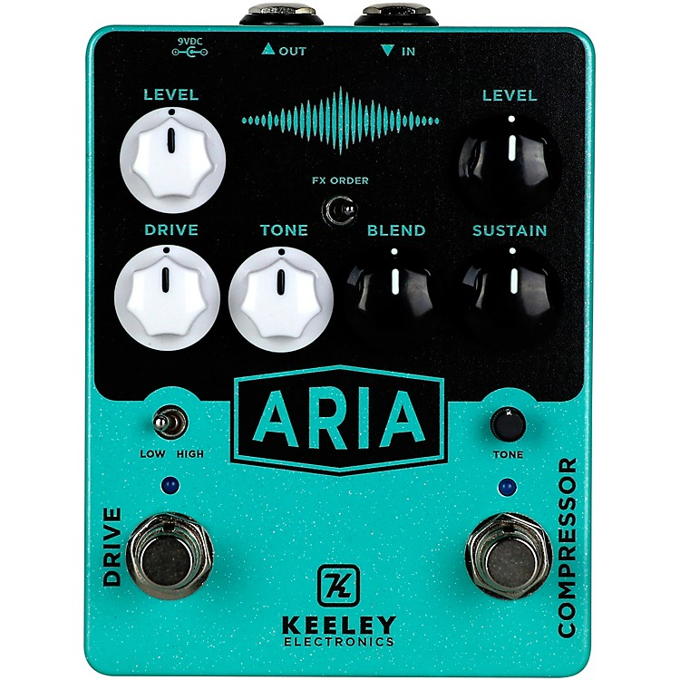 Keeley Aria Compressor Overdrive Effects Pedal