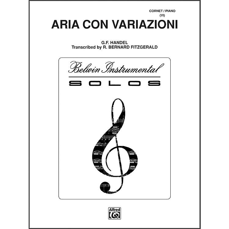 AlfredAria Con Variazioni Trumpet Solo