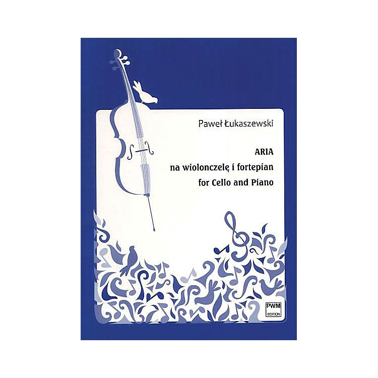 PWMAria for Cello and Piano (Aria na wiolonszele i fortepian) PWM Series Softcover