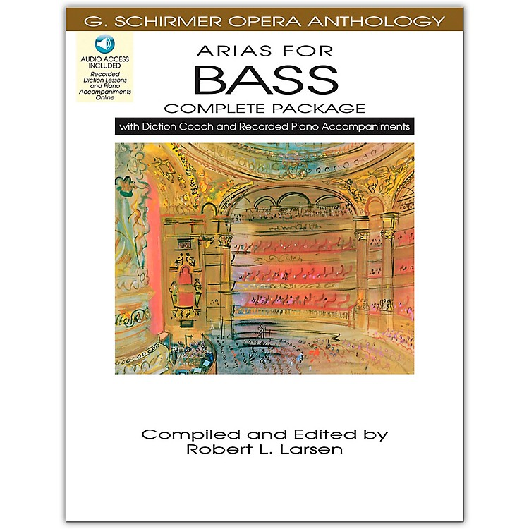 Hal LeonardArias For Bass - Complete Package Book/Online Audio