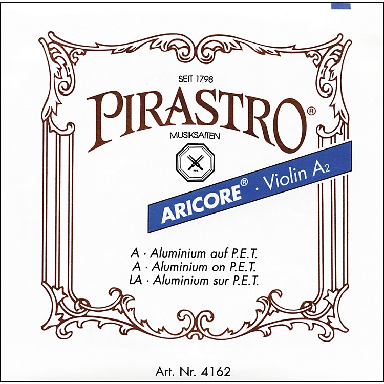 Pirastro Aricore Series Violin A String 4/4 Chrome Steel