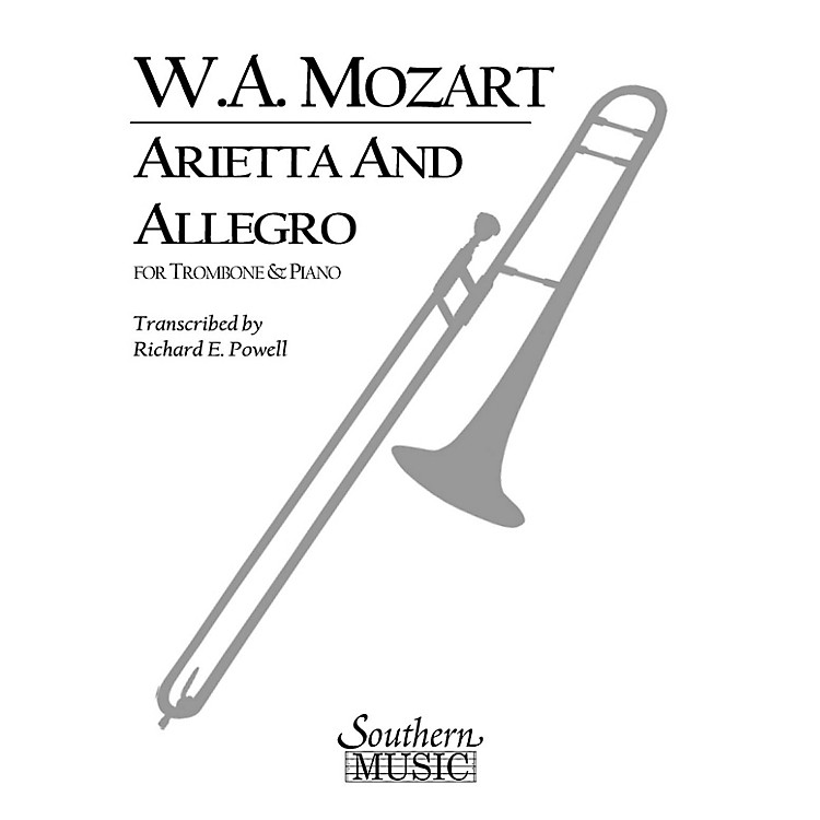 SouthernArietta and Allegro, K109b/8 K3 Southern Music Composed by Mozart Arranged by Richard Powell