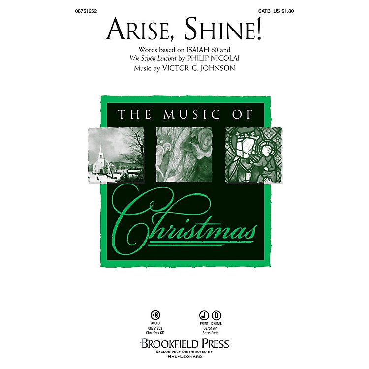 Brookfield Arise, Shine! Brass Accompaniment Composed by Victor C. Johnson