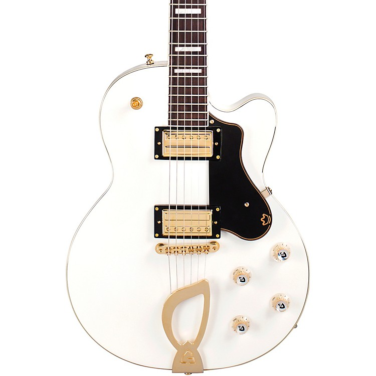 Guild Aristocrat HH Solidbody Electric Guitar Snow Crest White