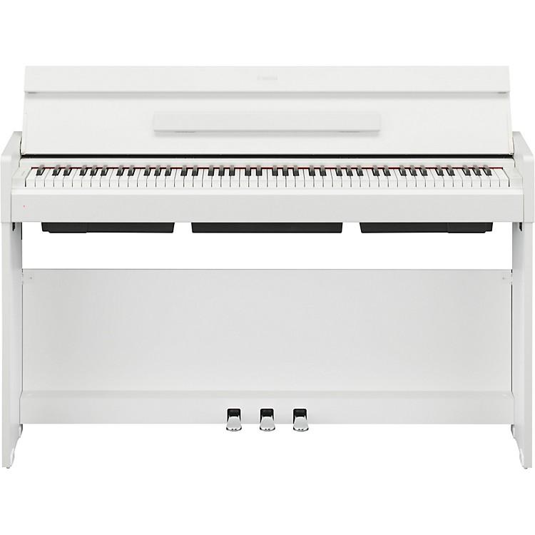 yamaha arius ydp s34 88 key digital piano white walnut music123. Black Bedroom Furniture Sets. Home Design Ideas