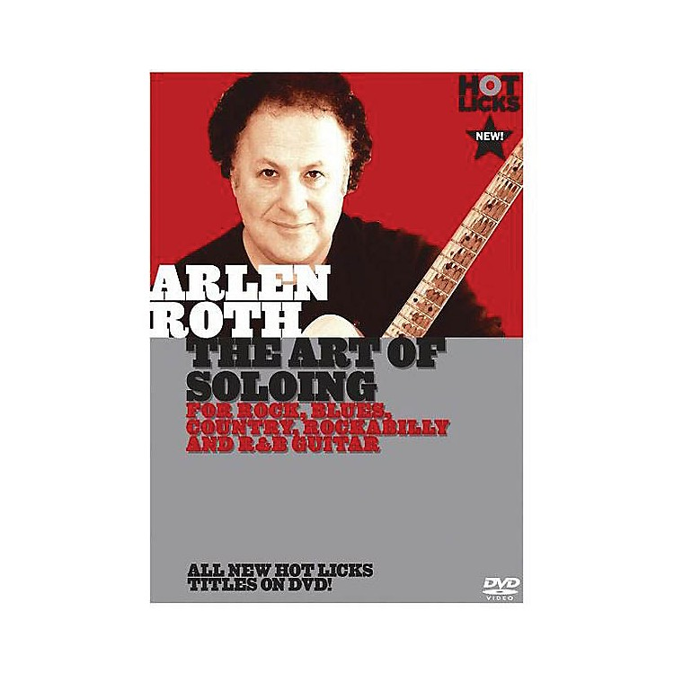 Music Sales Arlen Roth - The Art of Soloing Music Sales America Series DVD Performed by Arlen Roth