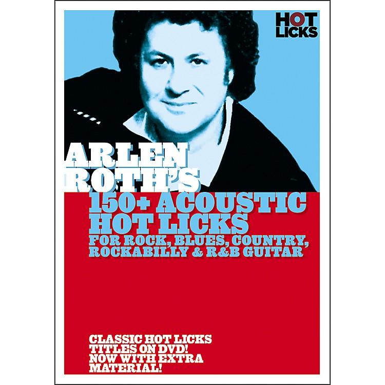 Hot LicksArlen Roth: 150+ Acoustic Hot Licks DVD