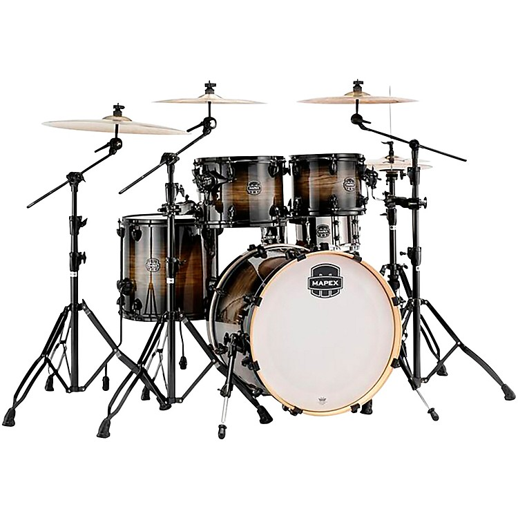 Mapex Armory Series 5-Piece Jazz/Rock Shell Pack Black Dawn