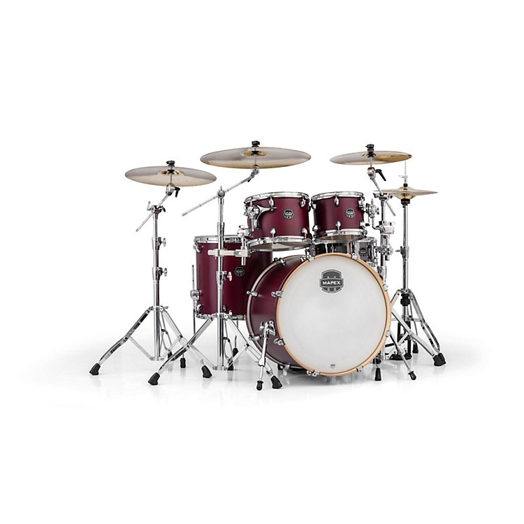 MapexArmory Series 5-Piece Rock Shell PackCordovan Red