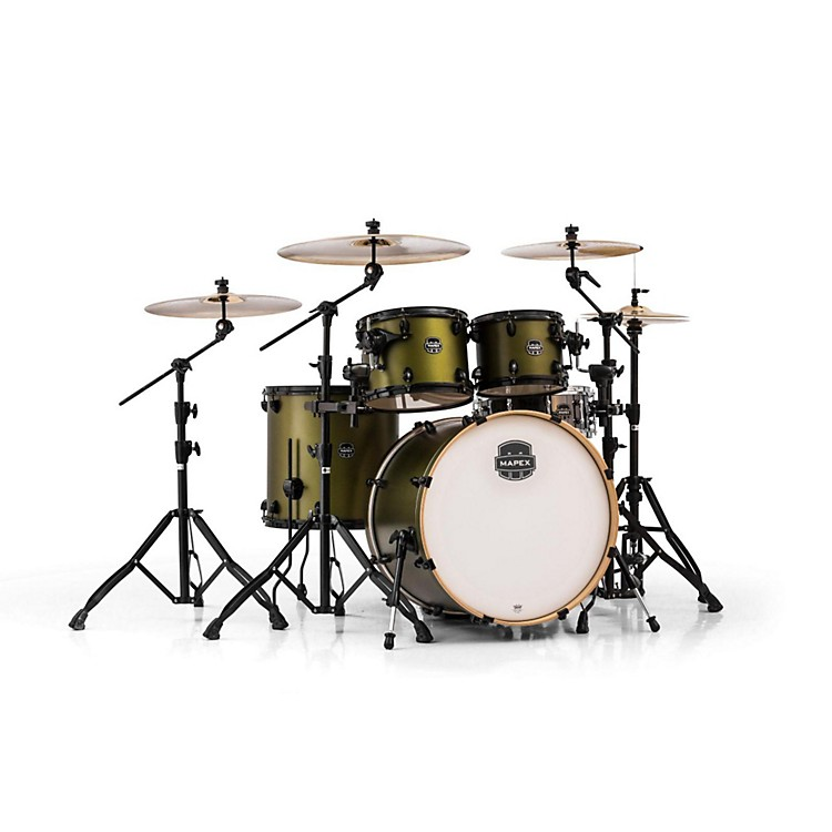 Mapex Armory Series 5-Piece Rock Shell Pack Mantis Green