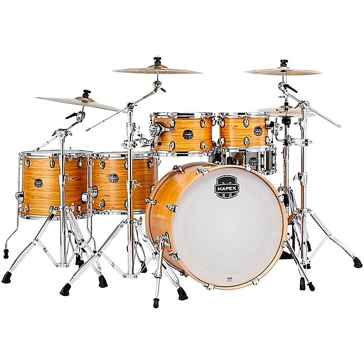 Mapex Armory Series 6-Piece Studioease Shell Pack Fast Toms Transparent Black