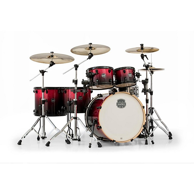 Mapex Armory Series 6-Piece Studioease Shell Pack Fast Toms Magna Red