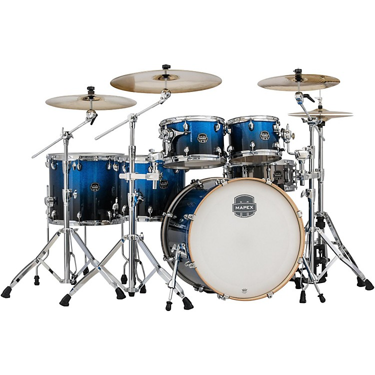 Mapex Armory Series 6-Piece Studioease Shell Pack Fast Toms Photon Blue