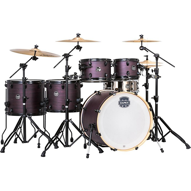 MapexArmory Series Exotic Studioease Shell Pack with Fast TomsUltramarine Gloss