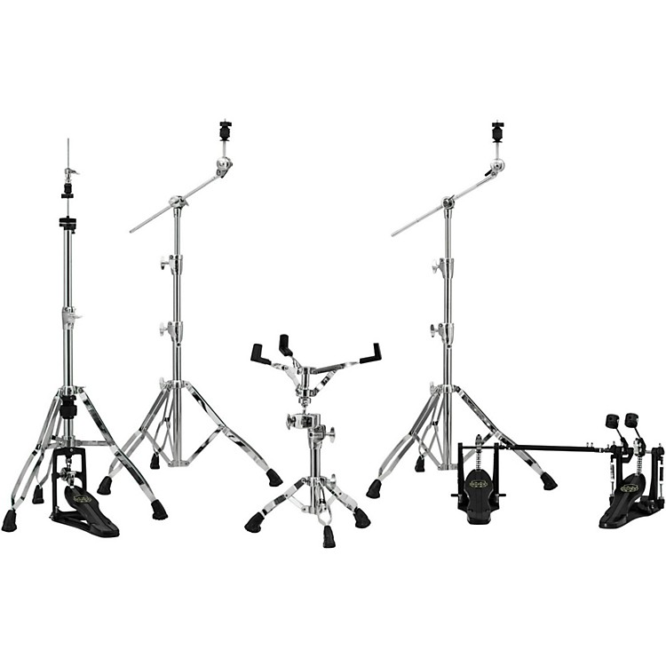 MapexArmory Series HP8005-DP 5-Piece Hardware Pack with Double PedalChrome