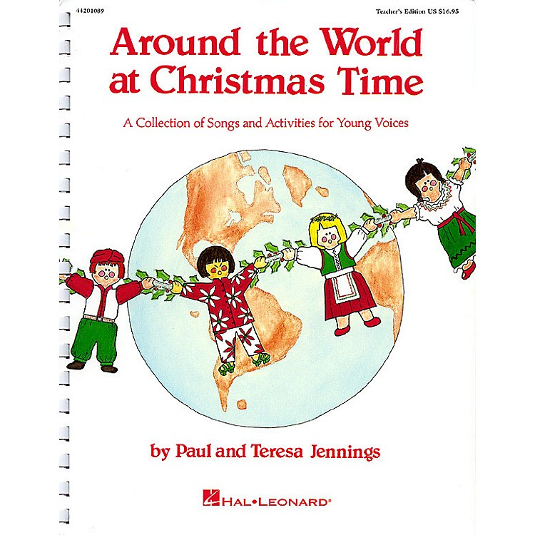 Hal LeonardAround the World at Christmas Time (Musical) ShowTrax CD Composed by Teresa Jennings