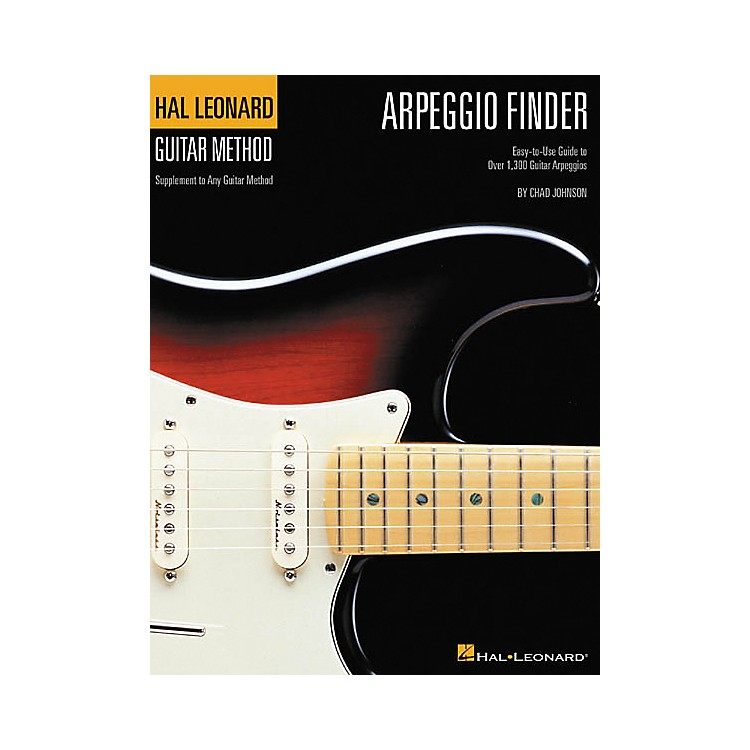 Hal Leonard Arpeggio Finder Guide to Over 1300 Arpeggios Book