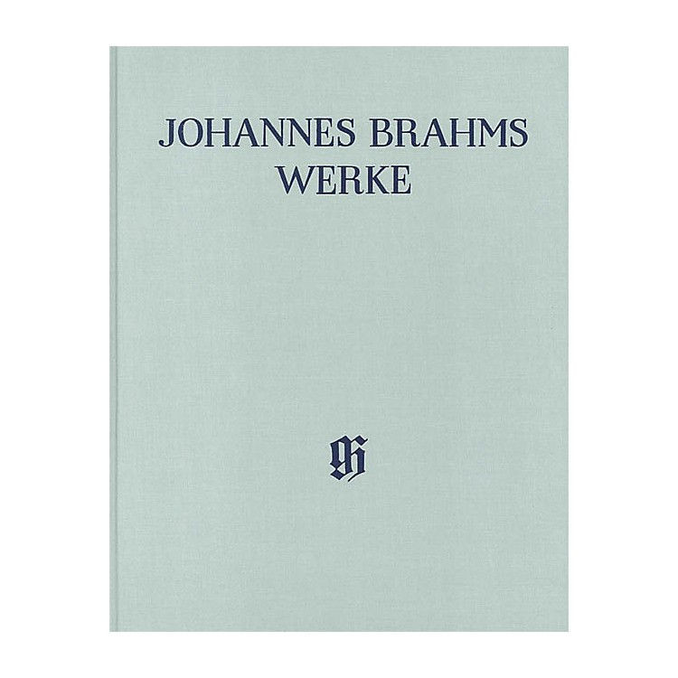 G. Henle VerlagArrangements of Works by Other Composers for 1 or 2 Pa 4-Hands Henle Complete Hardcover by Brahms