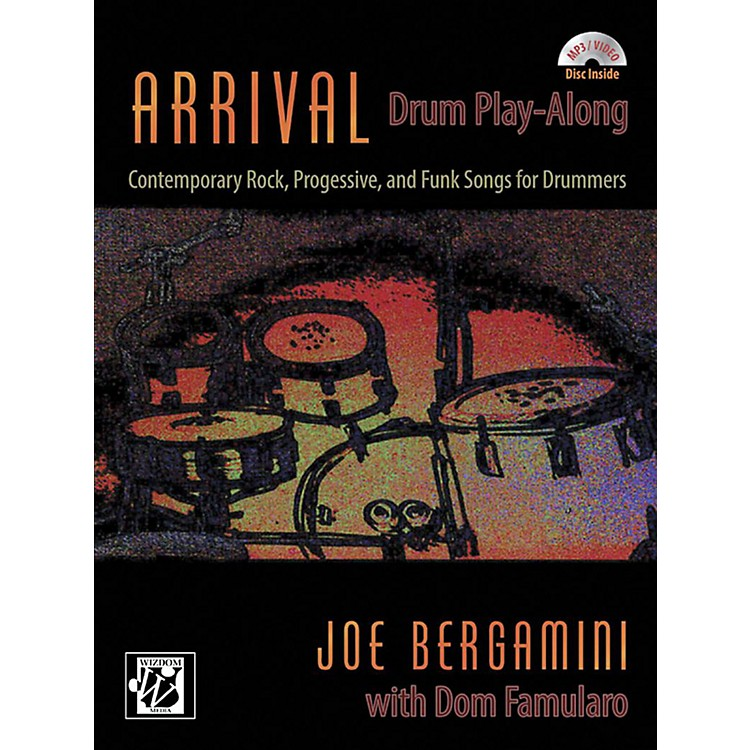Alfred Arrival: Drum Play-Along Book & CD