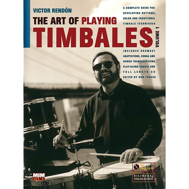 AlfredArt Of Playing Timbales 1 - Victor Rendon (Book/CD)