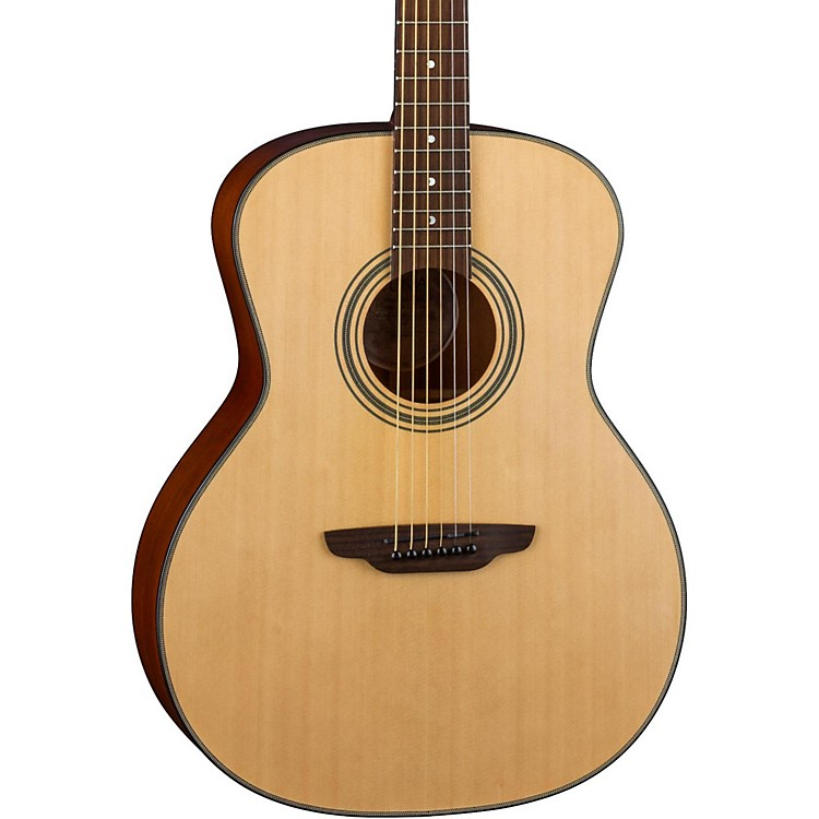 Luna Guitars Art Recorder Acoustic Guitar Natural
