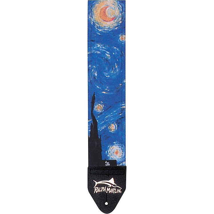 Ralph Marlin Art Series Guitar Strap Starry Night