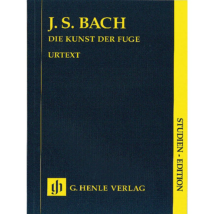 G. Henle Verlag Art of the Fugue BWV 1080 (Study Score) Henle Study Scores Series Softcover