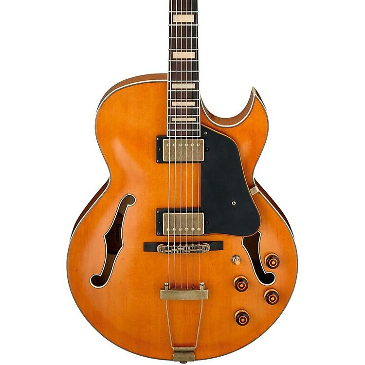 IbanezArtcore Expressionist Vintage AKJV90D Hollowbody Electric GuitarDark Amber