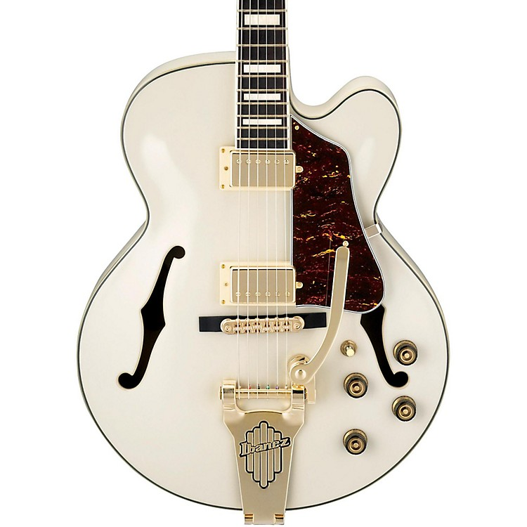 Ibanez Artcore Series AF75TDGIV Hollowbody Electric Guitar Ivory